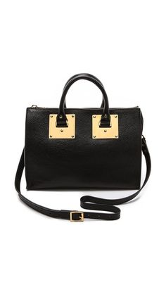 Sophie Hulme Stamped Zip Top Bag $850.00