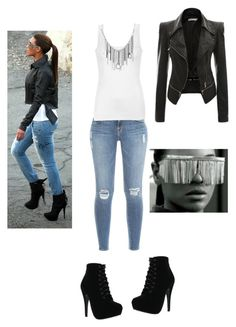 """beyonce inspired"" by chuchi9 on Polyvore featuring Forever Link, DIVA, Frame Denim, Ally Fashion and Bling Jewelry"
