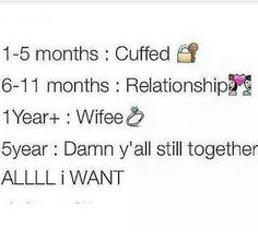 Relationship, well def more than a year to get married lol a year is way too soon tbh