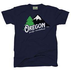 Oregon Pacific Wonderland Vintage   Youth T-Shirt