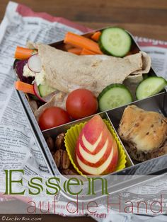 LeckerBox #104: gerolltes und gefülltes Naan-Brot mit Sellerie-Remoulade!