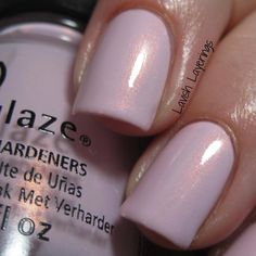 China Glaze Wanderlust- Wanderlust is a light pinky purple creme filled with fine copper shimmer. This baby is just gorgeous! It is one of my favorites in the collection! It feels so dainty and feminine...a must have!