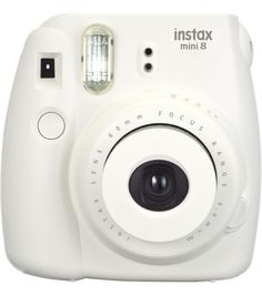 Fujifilm Instax Mini 8 Instant Camera, Whitenull