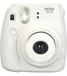 Fujifilm Instax Mini 8 Instant Camera, WhiteFujifilm Instax Mini 8 Instant Camera, White, -----use coupons