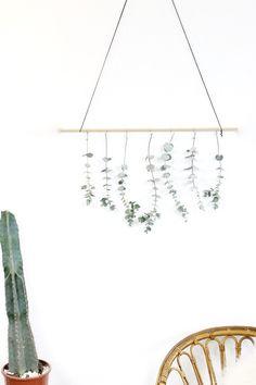 DIY: Eucalyptus Wall Hanging