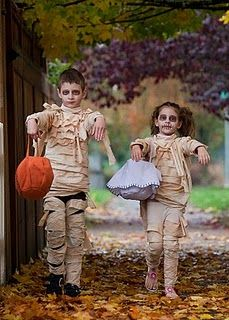 mummies #kids #halloween #costumes