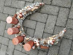 Adventskranz - Großer Kupferkranz - ein Designerstück von TinaKreativ bei DaWanda