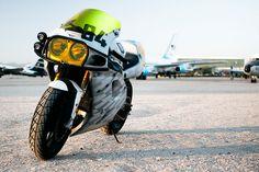 Kawasaki ZX7 custom motorcycle