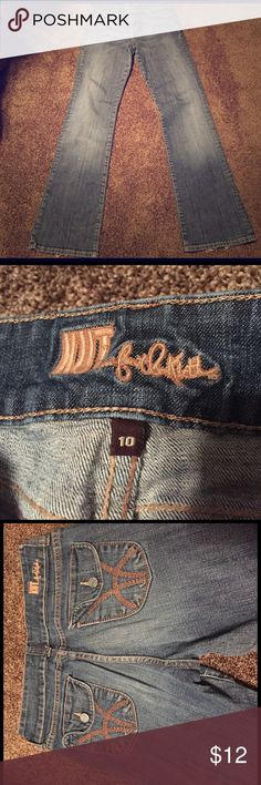 KUT from kloth jeans Good condition with double button Kut from the Kloth Jeans Boot Cut