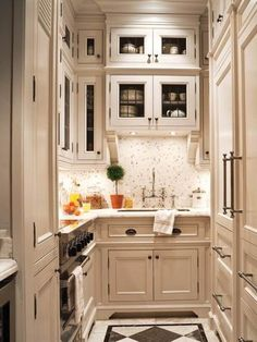 Small+U-shaped+Kitchen+Plans | Information About Small Kitchen Design Layout | Better Home and Garden