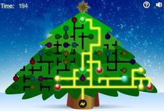These free online Christmas games are great for kids and adults. Take a break and get into the holiday spirit with these free Christmas games. Free Online Christmas Games, Christmas Games For Kids, Christmas Math, Christmas Party Games, Christmas Crafts, Christmas Tree Light Up, Christmas Tree Decorations, Light Games, Santa Claus Is Coming To Town