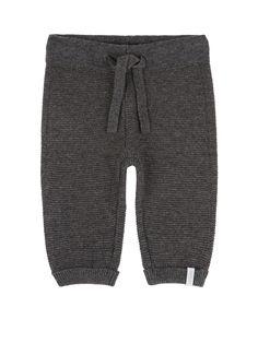 Pip Knitted Pants  www.lolafitz.com #grey #baby #pants #babyboy #babyclothing #stylishbaby #lolaandfitzfavorites #lolaandfitzbabies