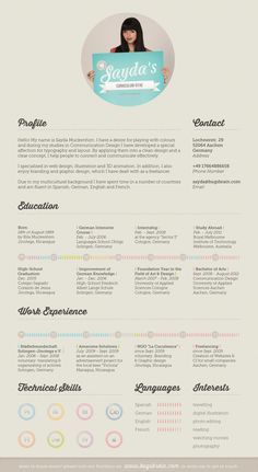Graphic Design Resume Examples | 45 Best Graphic Design Resume Design Images On Pinterest Creative