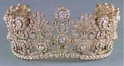 a Tiara belonging to the Thurn and Taxis family