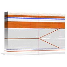 Naxart 'Abstract' Painting Print on Wrapped Canvas Size: