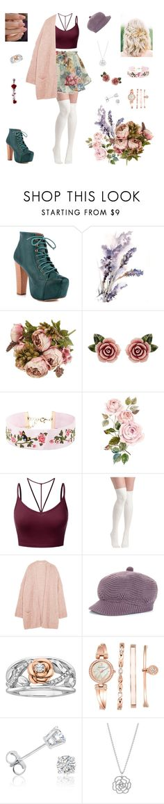 """""""Rosie Cotton"""" by valaquenta ❤ liked on Polyvore featuring Shoe Republic LA, Dolce&Gabbana, Forever 21, J.TOMSON, Eberjey, Disney, Anne Klein, Amanda Rose Collection and Pandora"""