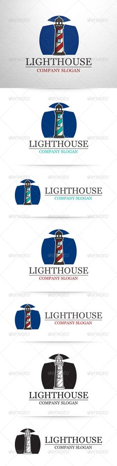 Lighthouse Logo Template - Buildings Logo Templates