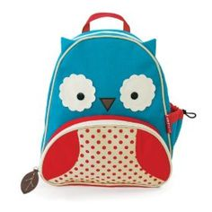 Owl backpack to match the lunchbox. $19.12 Amazon.  Comes in all sorts of different animals too (as does lunchbox)!
