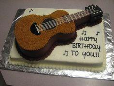 Bildergebnis für guitar cake
