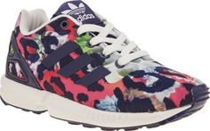 Adidas Multi Zx Flux Girls Junior The ever-popular adidas ZX Flux gets downsized for little feet and were super jealous at how cute they are. The printed man-made upper features colourful floral details and authentic 3-Stripe branding http://www.comparestoreprices.co.uk/january-2017-8/adidas-multi-zx-flux-girls-junior.asp