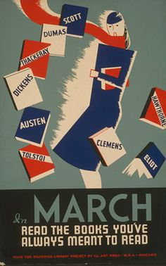 WPA Poster - Books