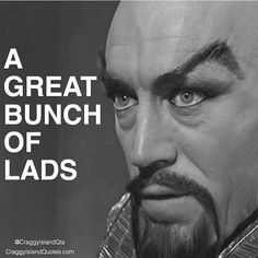 A classic repeat today. Ming the Merciless