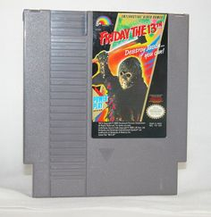Vintage Nintendo Game Friday The 13th. Loved this game but always scared me,lol.