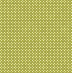 Tilda Fabric Dottie Green