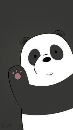 Best of We Bare Bears Wallpaper - Get super charming and attractive ideas related of We Bare Bears Cartoon Images on ThePhotocrafters. You'll find a spectacular selection of HD wallpapers and backgrounds. Cute Panda Wallpaper, Bear Wallpaper, Galaxy Wallpaper, Disney Wallpaper, Wallpaper Backgrounds, Iphone Wallpaper, White Wallpaper, Tsum Tsum Wallpaper, Hello Wallpaper