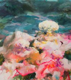 "If you love colorful, vibrant artwork you will be delighted by the  paintings of artist  Peihang Huang .        ""Fleshy Fairytale Celebr..."