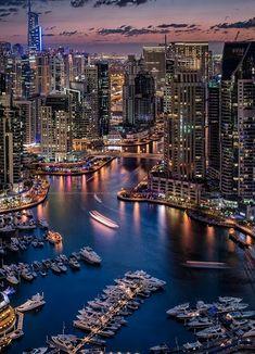 Dubai Marina! Beautiful place