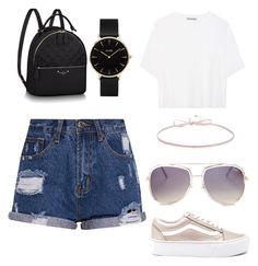 """Untitled #10"" by krvepami on Polyvore featuring Vans, CLUSE, Finn, Quay and Vince"