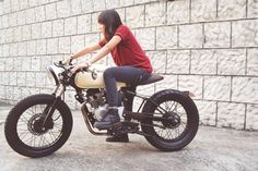 Special Bike Feature: Custom Couple Kawasaki Boxer 150 by Dereck Kwan from Taytay, Rizal | Cafe Racer Philippines