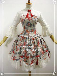 「和ロリ」に続くは中華ロリ!チャイナドレスイメージのロリィタファッション「Qi Lolita」 - NAVER まとめ