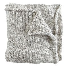 nice and knit cotton blanket II land of nod