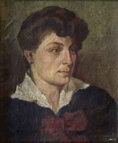 Стена | ВКонтакте  Иванэ Вепхвадзе. Женский портрет. 1914 год.