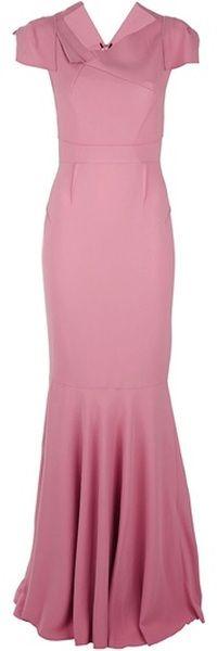 ROLAND MOURET ENGLAND Jaryndyce Dress  looks like a 1940's style dress