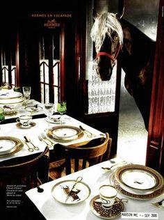 Hermes does it again. Their equine ads are amazing! L'Air de Paris 10 - Hermes