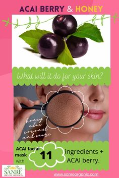 SKIN food - berries, honey, aloe, coconut & more! What does it do????? FIND OUT... #skin #beauty #skincare Natural Cures, Natural Skin Care, Natural Beauty, All Things Beauty, Beauty Tips, Beauty Hacks, Vegan Products, Free Products
