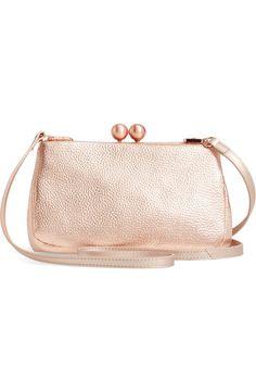 Ted Baker London Chrina Leather Crossbody Bag | Nordstrom Ted Baker Bag, Leather Crossbody Bag, Nordstrom, London, Bags, Fashion, Ted Baker Handbag, Handbags, Moda