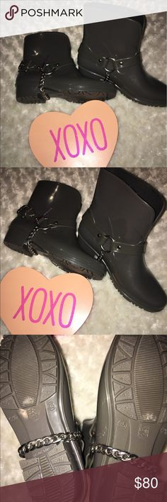 marc by marc jacob boot marc by marc jacob gray rubber ankle rain boots size 35 NWOT Marc by Marc Jacobs Shoes Ankle Boots & Booties