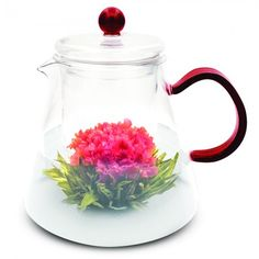 Amore Glass Teapot with Infuser