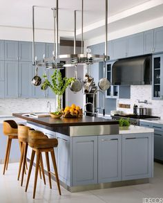 If You Want To Increase The Value Of Your Home, Paint Your Kitchen This Color - ELLEDecor.com
