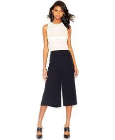 Bar III Gaucho Pants - Pants & Capris - Women - Macy's