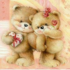 Cute Teddy Bear Pics, Teddy Bear Images, Teddy Bear Cartoon, Teddy Bear Pictures, Cute Bears, Tatty Teddy, Photo Ours, Valentines Day Bears, Teady Bear