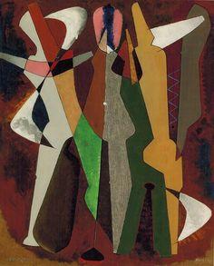 Man Ray / Promenade, (1916)