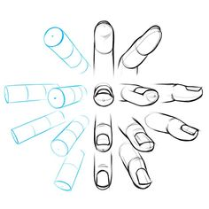 Image result for how to draw hands