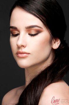 Smokey Eye makeup by the Foundation Level graduates student! #smokey #makeup #mua