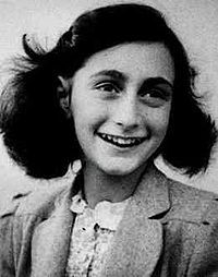 Anne Frank...She lit a candle in the darkness.