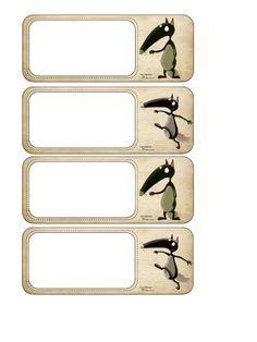 Fichier PDF Etiquettes porte-manteaux.pdf                              … Summer Teacher Outfits, Petite Section, Classroom Organization, Alphabet, Multiplication, Encouragement, Images, Album, Baby Goats